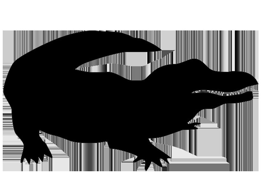 Alligator clipart silhouette Crocodile%20head%20silhouette Silhouette Clipart Free Images