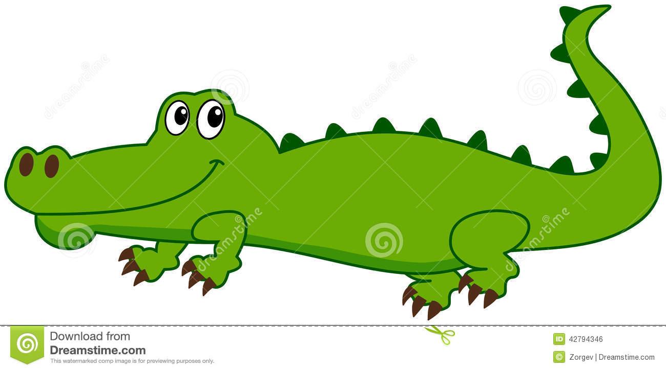 Crocodile clipart smile Crocodile A Free Clipart and