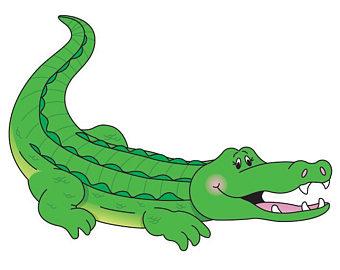Alligator clipart printable Alligator Swamp Art Clipart Crocodile