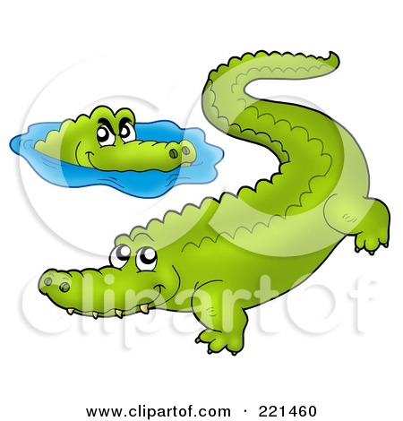 Alligator clipart two Water Images Clipart Clipart Free
