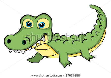Alligator clipart water drawing Photo#15 In Crocodile in Water