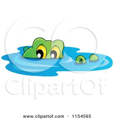 Alligator clipart water cartoon Clipart Water crocodile Clipart In