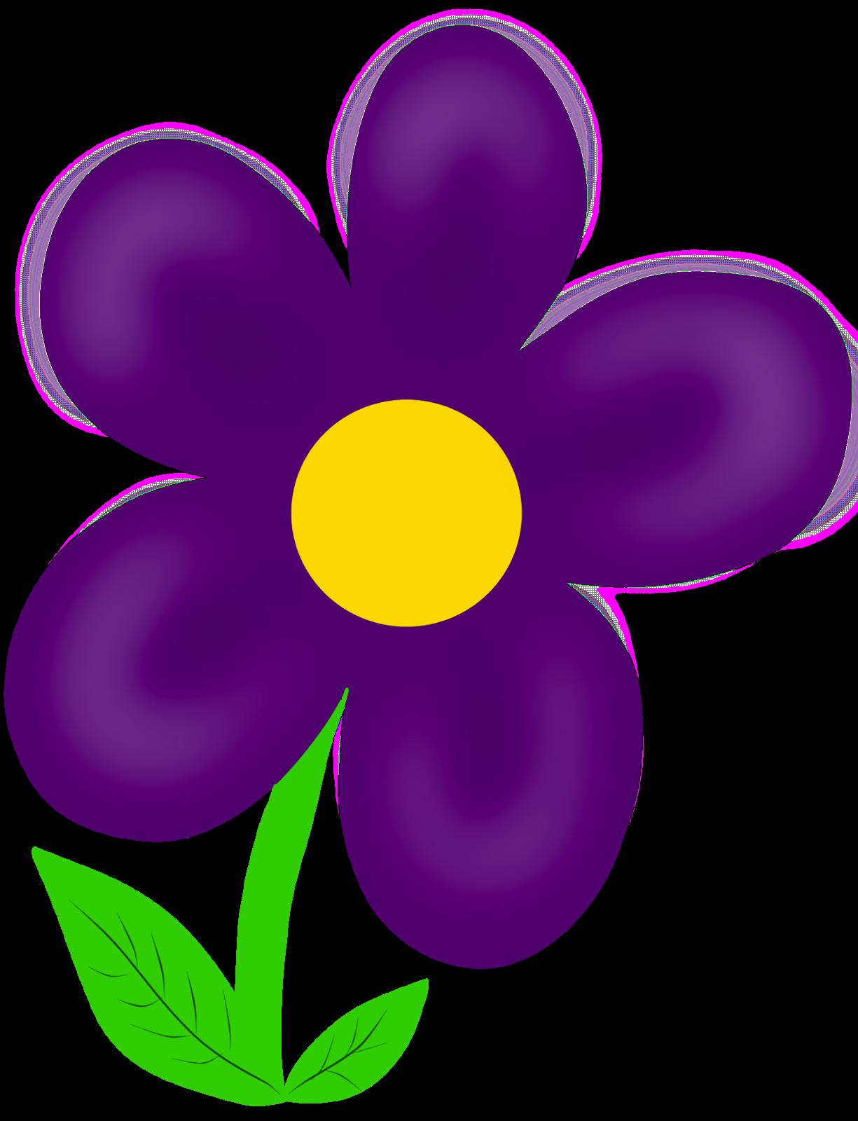 Gallery clipart april flower Images Panda Clipart Purple Clip