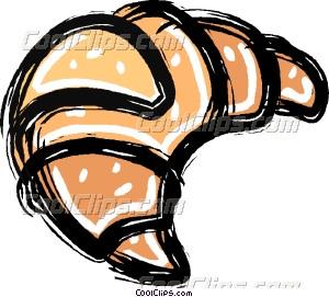 Croissant clipart Croissant croissant Clip art Vector