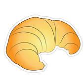 Croissant clipart Croissant Bread Croissant Royalty Art