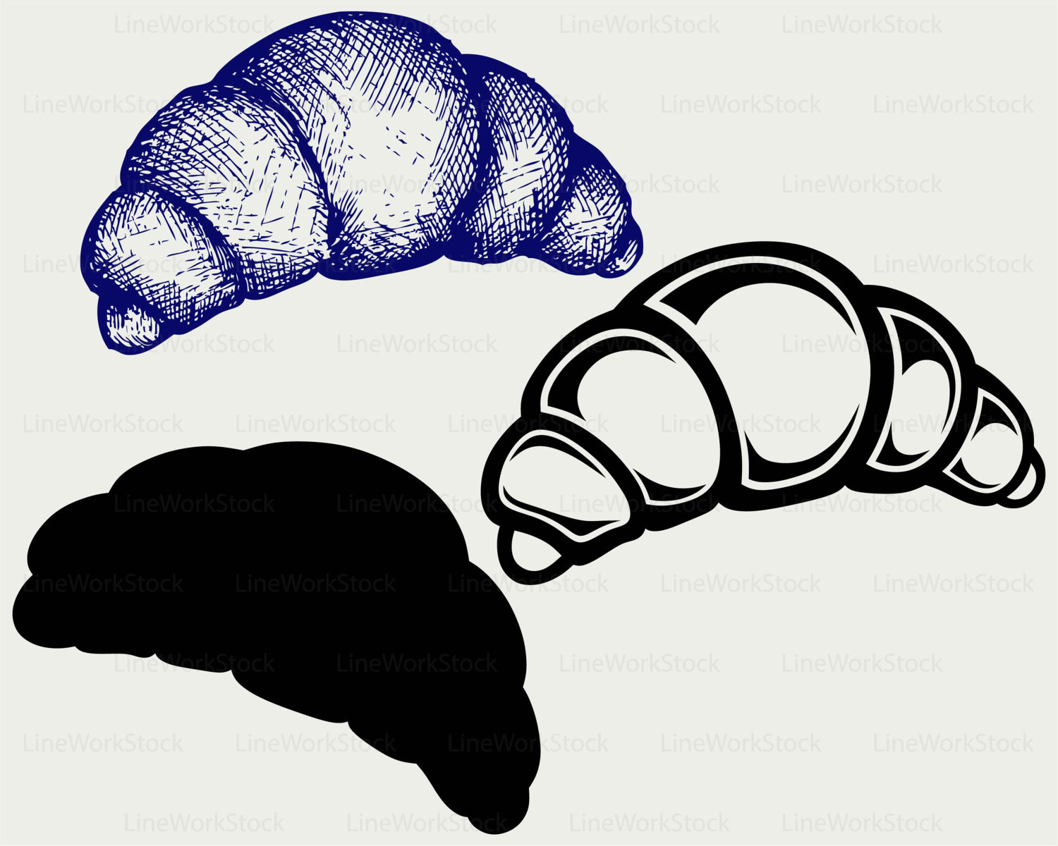 Denmark clipart croissant This bakery svg is svg