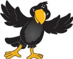 Crow clipart Clipart Free crow Crow