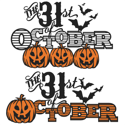 Crow clipart october Files October svg  cutting