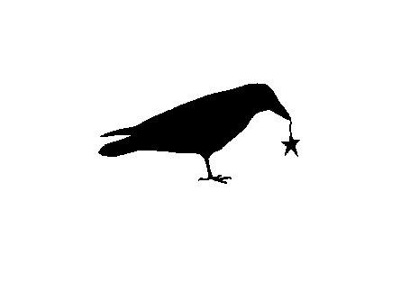 Raven clipart primitive #4