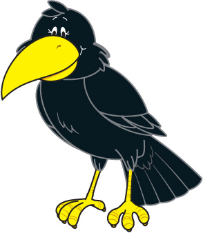 Crow clipart simple 2016 usrevolution5 January art crow