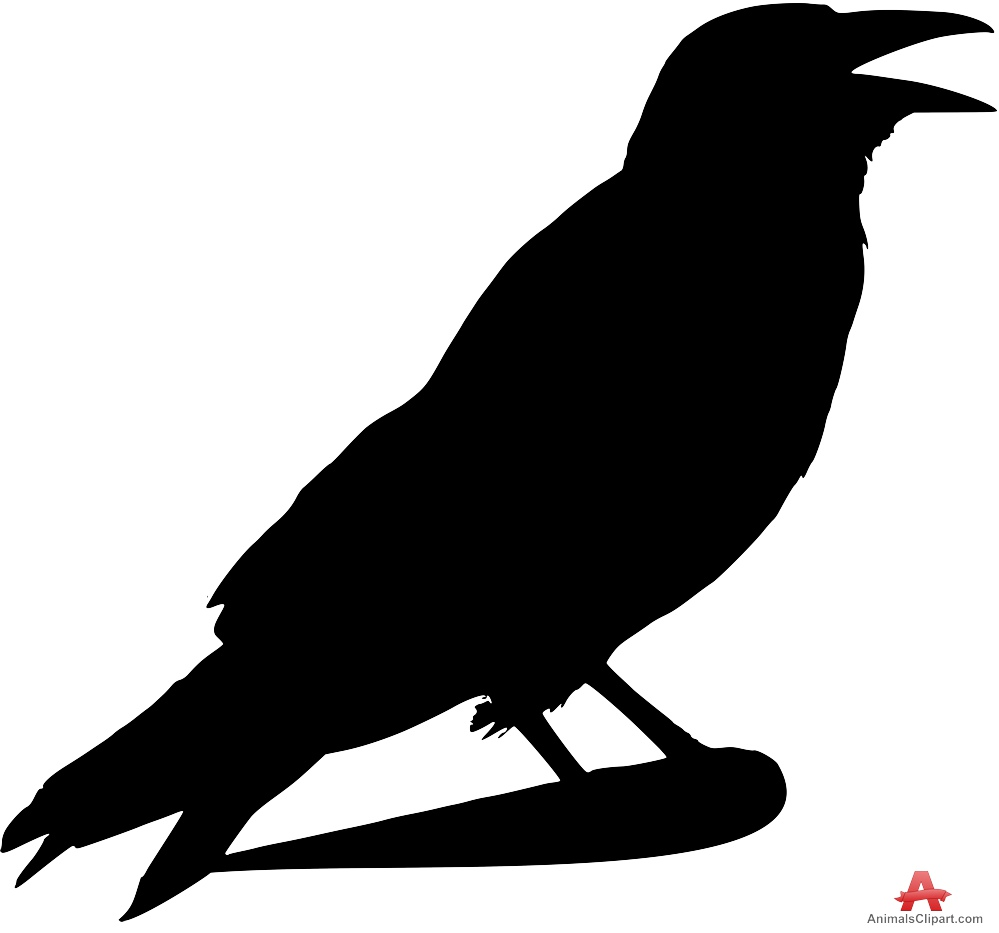 Crow clipart silhouette Download Crow Raven Free Clipart