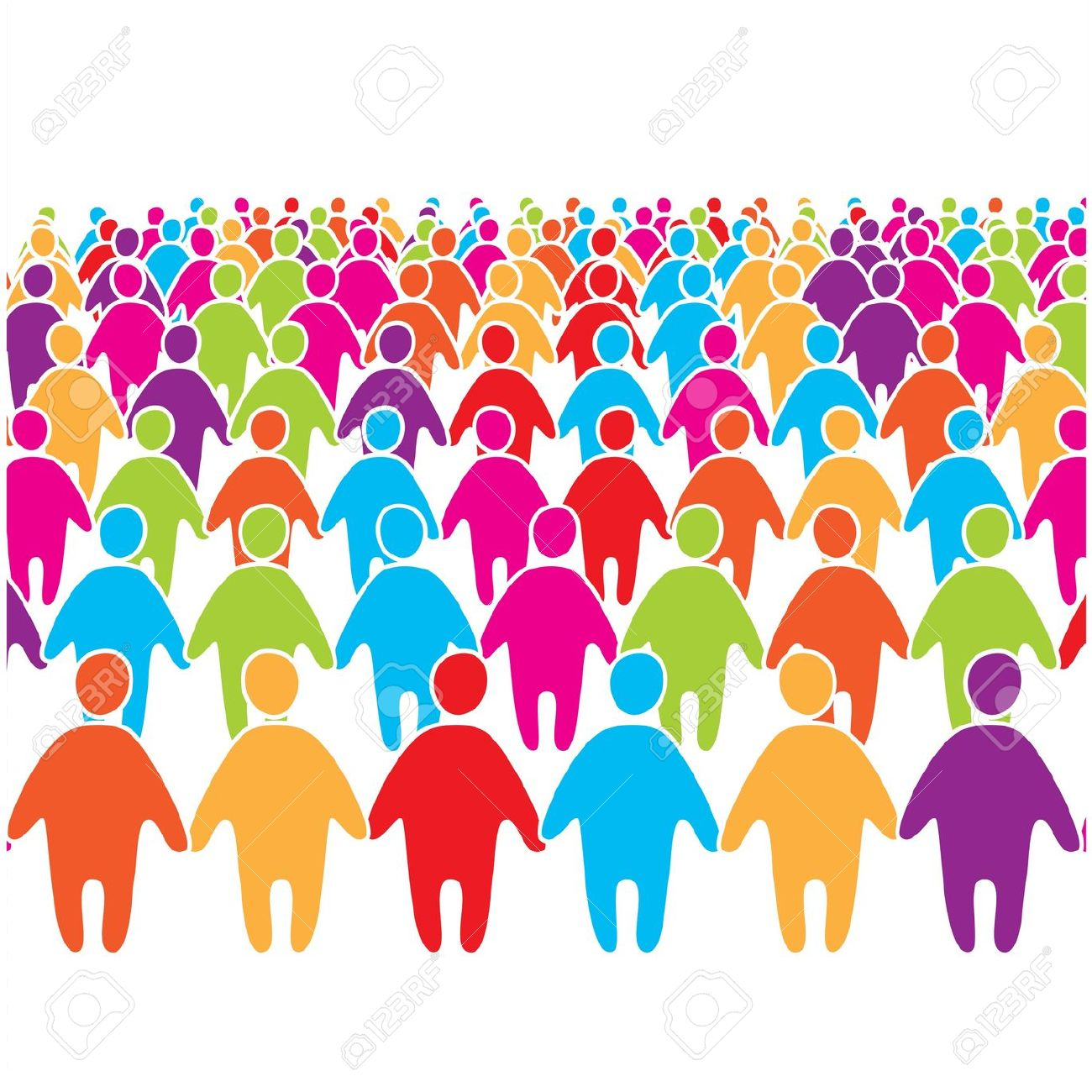 Crowd clipart Free (6851) people Clipart Crowds