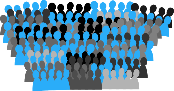 Crowd clipart pictogram Art at image clip Unc