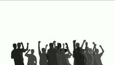 Crowd clipart hands Clip Art concert Clip Cheering