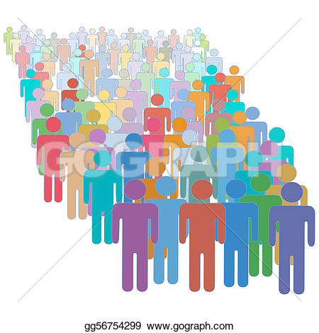 Crowd clipart human population Clipart clipart Clipart graphicHuman Together