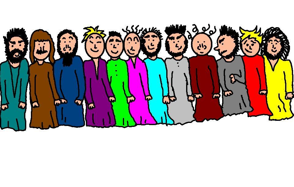 Crowd clipart jesus And Bay Clipart Apostles Clipart