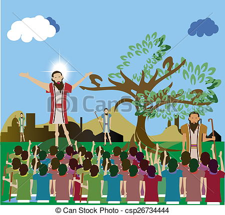 Crowd clipart jesus Of clipart of A people