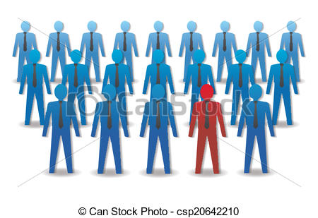 Crowd clipart leadership The crowd Unusual in Leadership