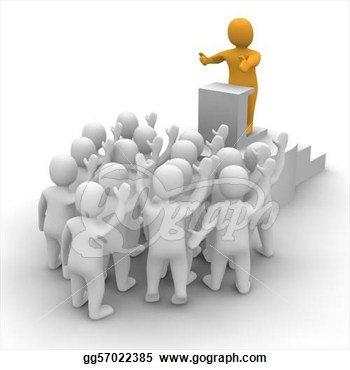Crowd clipart person art Clipart Art Leader Free leader%20clipart