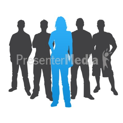 Crowd clipart leadership Leader ID# stepping Woman 3840