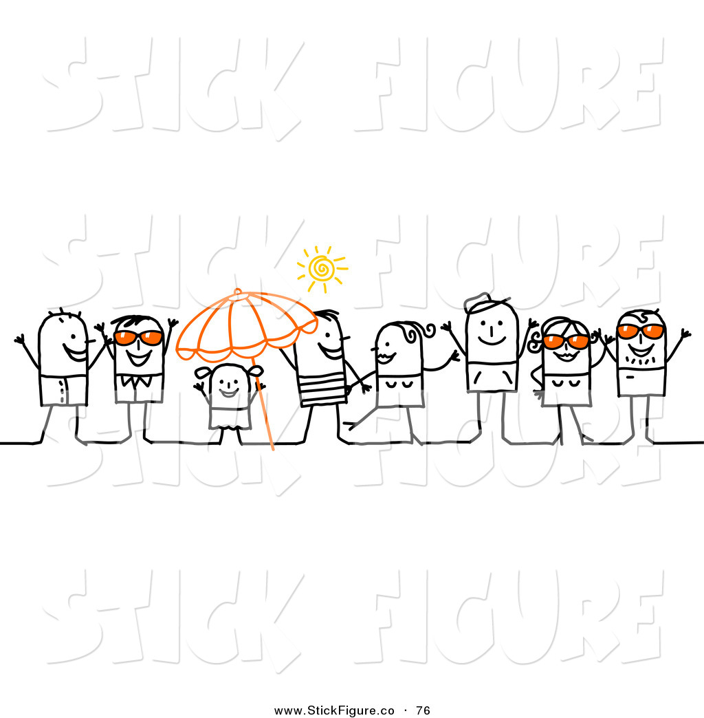 Crowd clipart main character And Crowd Art of People