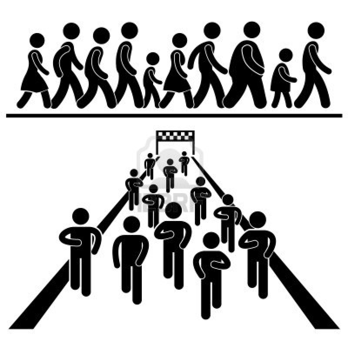 Crowd clipart pictogram Symbols Symbols this Graphic on