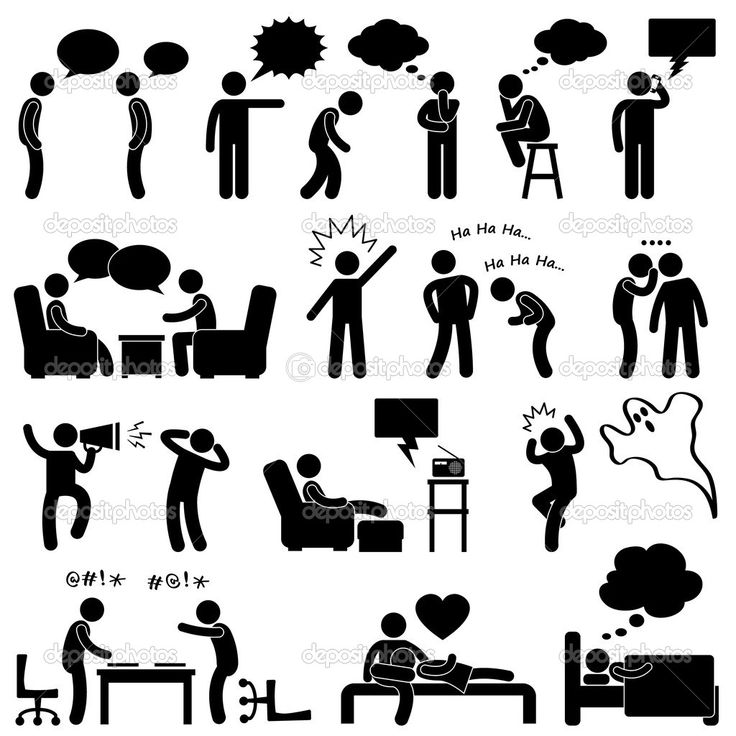 Crowd clipart pictogram Pictogram Pinterest Screaming Thinking Sign