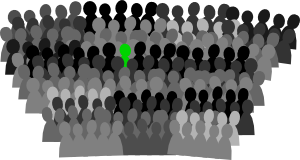 Crowd clipart pictogram And Clip nuts Den: pictograms
