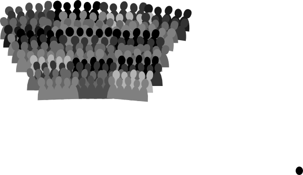 Crowd clipart small Panda Clipart collection Crowd Crowd