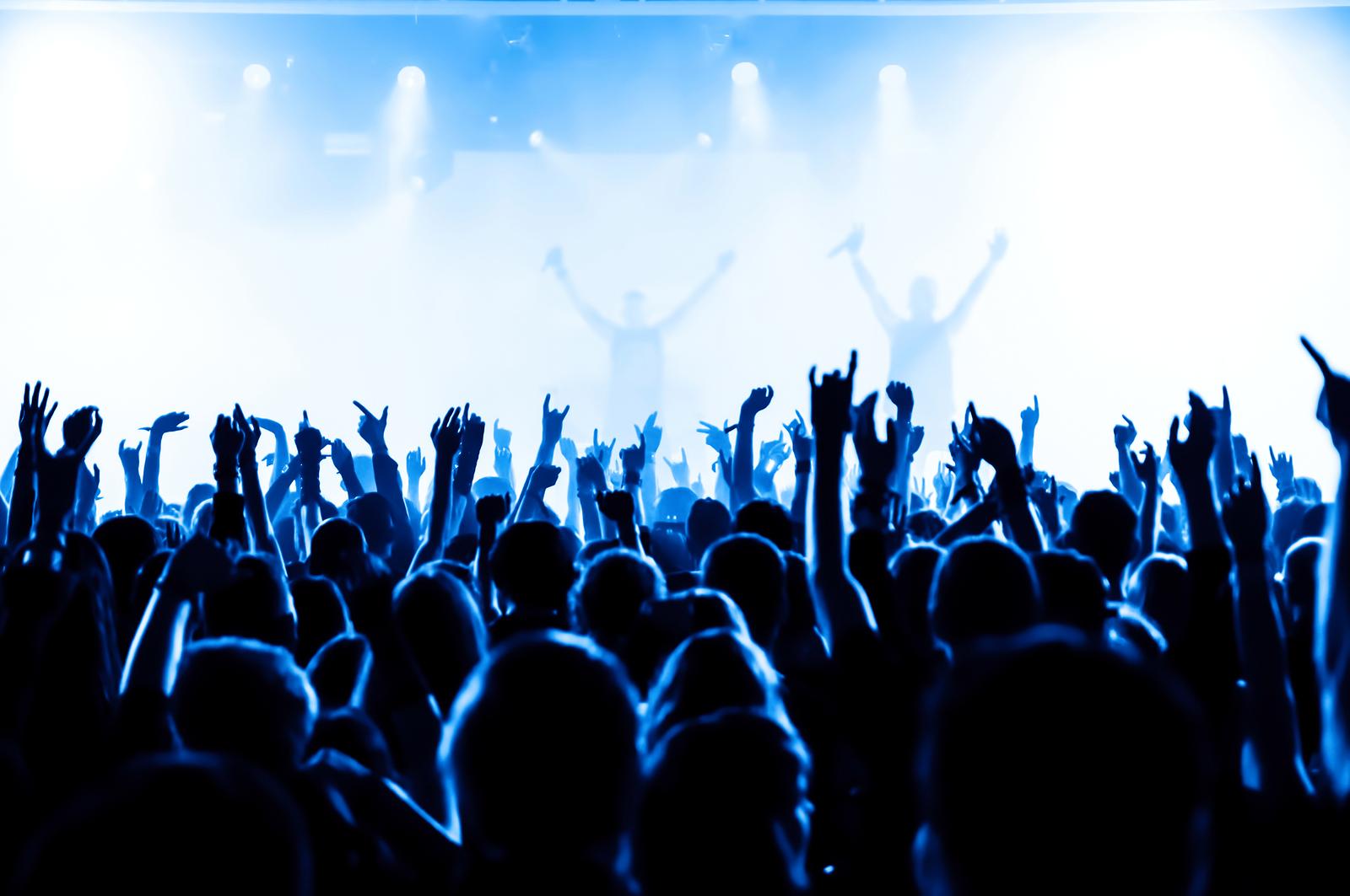 Crowd clipart summer concert Catches concert 862211 Busco up