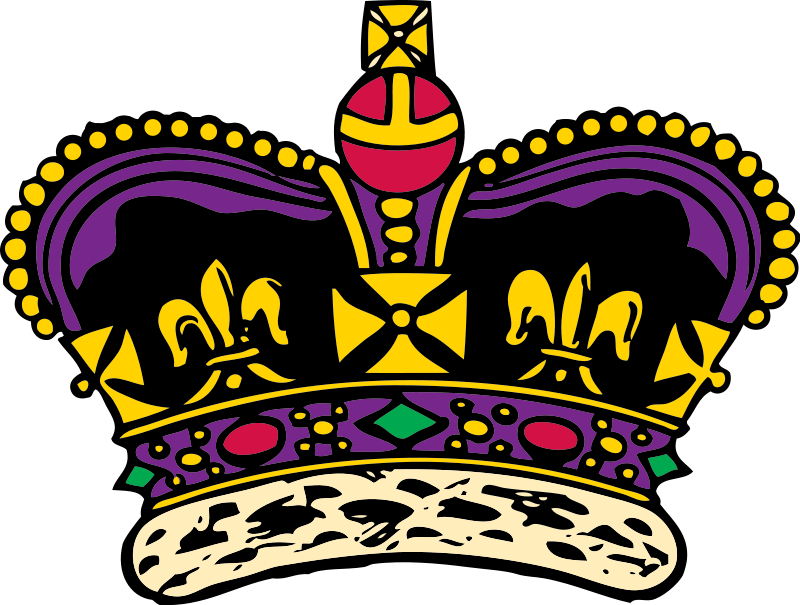 Crown clipart crown jewels King Art Download Clip on