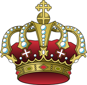 Crown clipart gold king Art The Clip King com