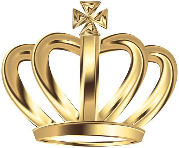 Crown clipart gold king Art Crown crown Transparent collections