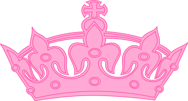 Crown clipart pink crown Art Free Clipart library Crown