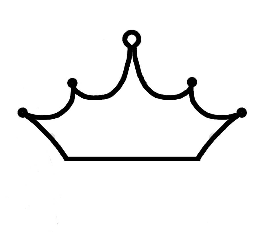 White clipart princess crown Sketch And Download And Art
