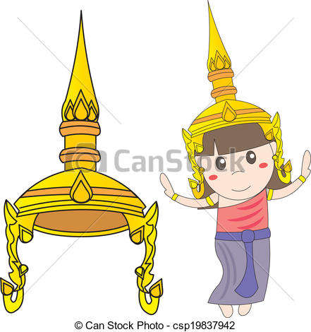 Thailand clipart traditional dance #4
