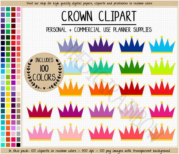 Iiii clipart princess Crown stickers stickers crown Condren