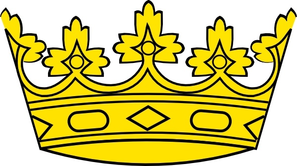 Crown clipart gold king 108 clip Free art office