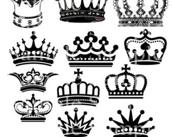 Crown Royal clipart 40%SALE Clipart Digital princess Clipart