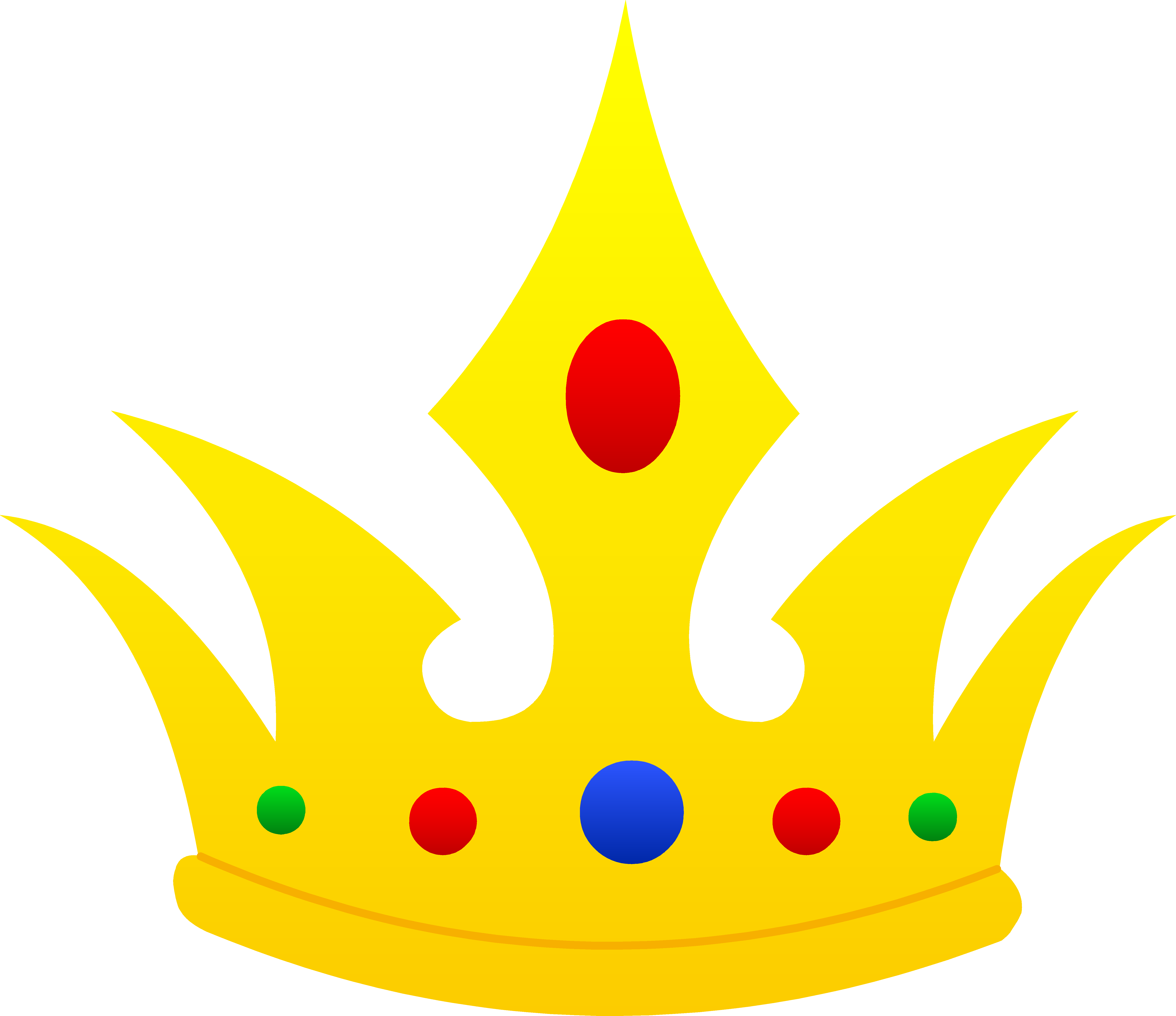 Crown Royal clipart animated Clip Crown Free Pointed Clip