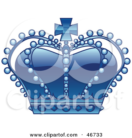 Blue clipart royal crown Crown sceptor Clipart blue Royalty