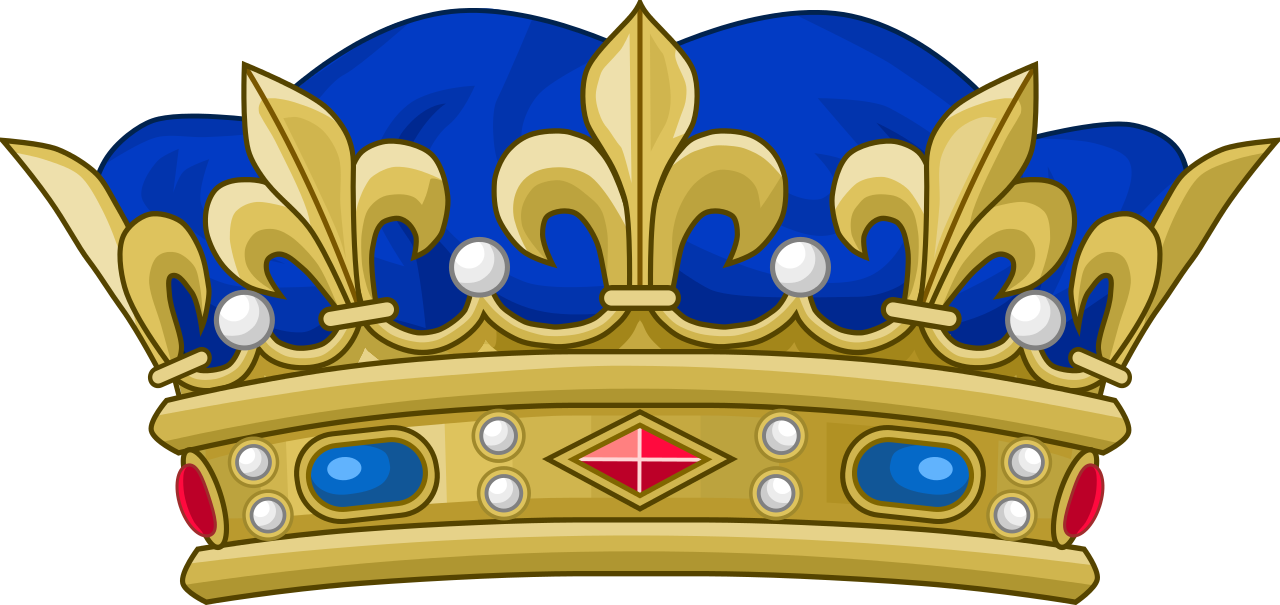 Blue clipart royal crown Crown on Cliparts Art Royal
