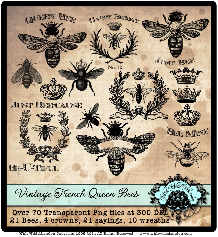 Wreath clipart bee Crown Clipart Instant Queen Wreath