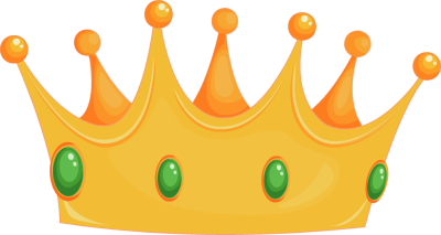 Yellow clipart tiara Clipart purple crown Clipartix Free