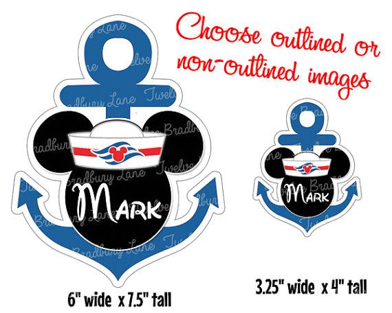 Cruise clipart anchor clip Printable matching Art Clip Anchor