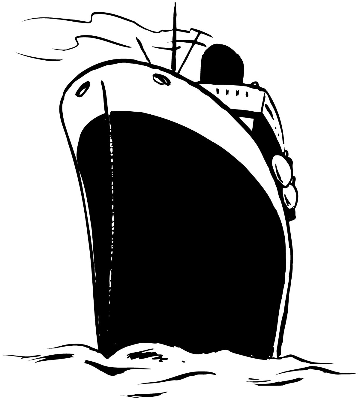Cruise clipart black and white Art Others Cruise White Black