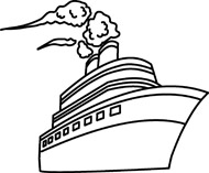 Cruise clipart black and white Black Clipart fish%20outline%20clipart%20black%20and%20white Boat And