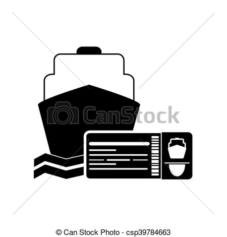 Cruise clipart boarding Art of ship flat
