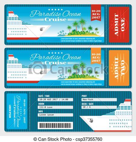 Cruise clipart boarding Vector csp37355760 boarding boarding