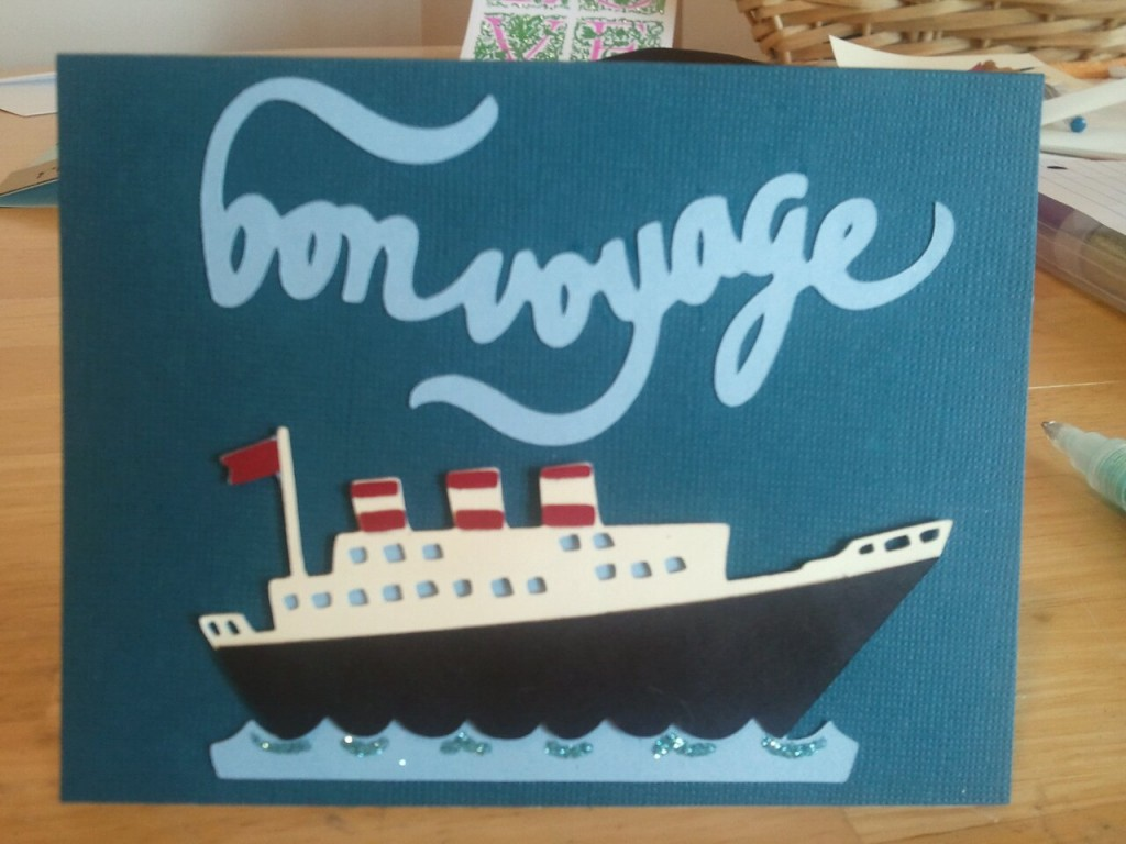 Cruise clipart bon voyage Elle Ship Art Free on